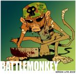 Battle Monkey by MorganLuthi