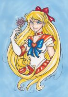Pretty Sailor Venus by nickyflamingo