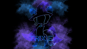Laser Trixie Wallpaper by EnemyD