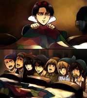 Levi and the Special Operations Squad by ROSEL-D