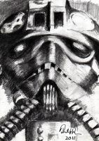 TIE Fighter Pilot by philippeL
