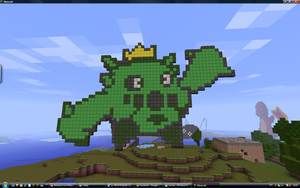 Minecraft cacnea by Nyeep