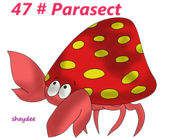 Parasect by The-Real-Shaydee