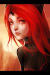 .: Red :. by JuliaTheDragonCat