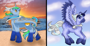 My little Pony Prizes by Timatae