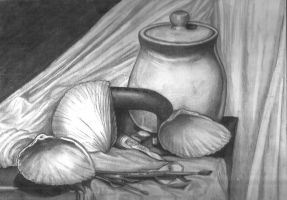 Studio Still Life by artiste-reveur