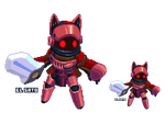 Volcanic demo set sprite by El-Sato