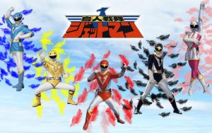 Chojin Sentai Jetman by blakehunter