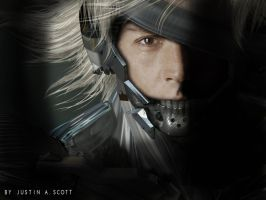 JOHNNY DEPP AS MGS RAIDEN by lexoskeleton