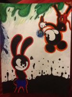 Epic mickey (oswald) by Blossom-Pop
