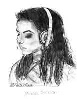 Michael Jackson Drawing by InterRose