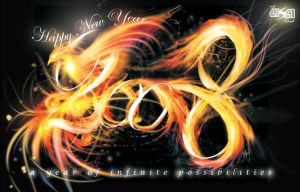 Phoenix new year 2008 by Morefeous
