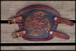 Asathor Bracer Bronze Edition by Wodenswolf