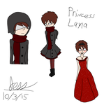 Layla doodles by Jess4ever