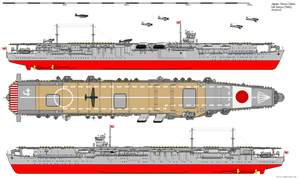 Soryu-class Aircraft Carrier (1942) by ijnfleetadmiral