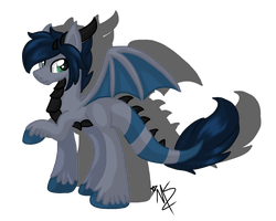 New oc by MidnightSketches