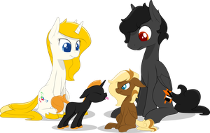 The Fam by Emkay-MLP