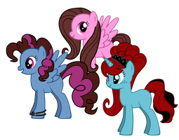My Ponies by CloudBrownie