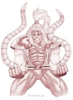 Red Omega Red by ArtbroSean