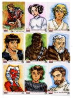 Star Wars Galaxy 4 001-009 by aimo