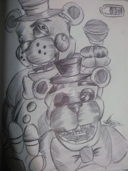 Are You Ready For Freddy by ThePeculiarArtist