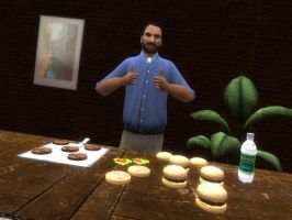 R.I.P. Billy Mays by KillerZombie123