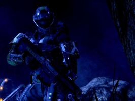 halo reach:scout by purpledragon104