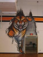 IVHS Gym - Wall number three by thecymbalwench