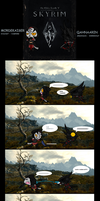 The Skyrim Adventures of Mordekaiser and Qahnaarin by Absol989