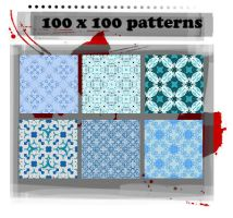 100x100 patterns 001 by ffyunie