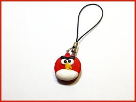 Angry Birds - Cell Phone Strap by CookingMaru