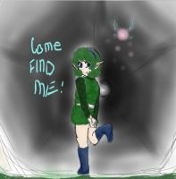 Saria in the Lost Woods by AbominalSnowDemon