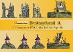Fantasy Land PNG Stock Pack by Roys-Art