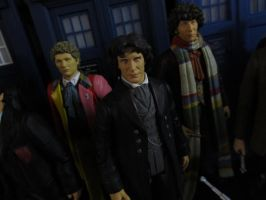 6th, 8th and 4th Doctors by Police-Box-Traveler