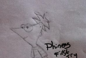 Phineas First Try by MellenAgen