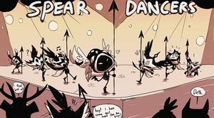 Patapon3 Pole- I mean Speardancers by Rodamrix