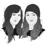 Custom Sketched Black and White Portraits 2 by JesseRayus