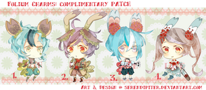 [CLOSED] Folium Charms: Complimentry Patch by Serendipiter