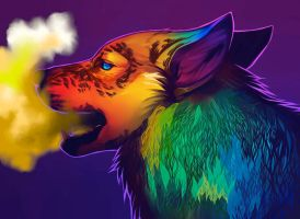 Smoky Breath by ClaraBacou