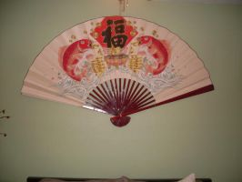 Japanese Fan by Moonlitpetal