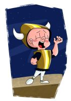 Elmer fudd what's opera doc speed drawing by IDROIDMONKEY