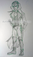 Pirate Lord Thackery by ArtbyMaryC