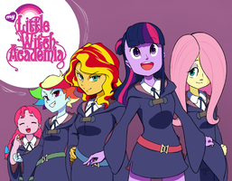 My Little Witch Academia by empty-10