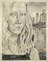 Self Portrait in Graphite by Reflection-Of-Roses