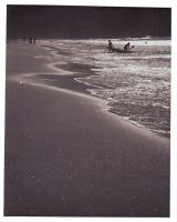 Silhouettes, Sand, Life by myelbow