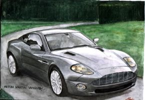 Aston martin by turbocharger
