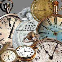 Clocks PNG by Baira