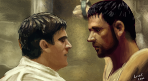 gladiator vs commodo by cavalars