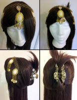 Commission: Hair Jewelry by Antiquity-Dreams