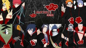 Akatsuki Members VECTOR Wallpaper by sasorisbutt